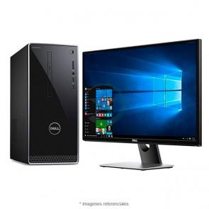 """PC Dell Inspiron 3668-5236, Intel Core i5-7400 3.0GHz, RAM 12GB, HDD 1TB, Video 2GB NVIDIA GT 720, Wi-FI, DVD, Windows 10 Home +  Monitor Dell SE2717H 27"""""""