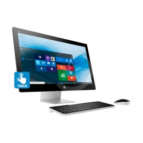 "PC Todo en Uno HP Pavilion TouchSmart 23-q170se, Intel Core i5 4460T 1.9GHz, RAM 8GB, HDD 1TB, Video AMD 2GB, DVD, LED 23"" Touch Full HD, Windows 10"