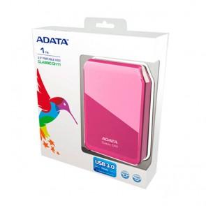 """Disco duro externo ADATA 500GB Classic CH11 rosado 2.5"""""""