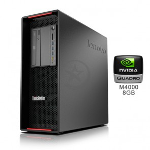 PC WorkStation Lenovo ThinkStation P500 Intel Xeon Six Core E5-1650 v3 3.5GHz(vPro), RAM 32GB DDR4 , HDD 2TB + SSD 256GB, Video 8GB Quadro P4000, DVD, Windows 10 Pro