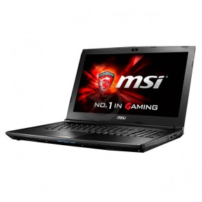 "Laptop MSI GL62M 7RD-056 Gaming Intel Core i7-7700HQ 2.8GHz, RAM 16GB, HDD 1TB, Video 2GB GTX 1050M, LED 15.6"" Full-HD, Windows 10 Eng"