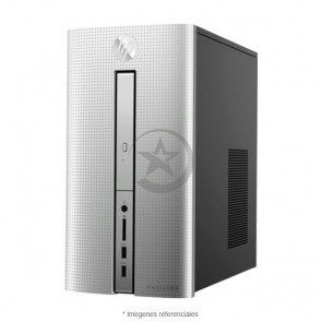 PC HP Pavilion 570-P045XT Graphics, Intel Core i5-7400 3.0GHz, RAM 8GB, HDD 1TB, Video 2GB AMD Radeon RX 460 , Wi-FI, BT, DVD, Windows 10 Home