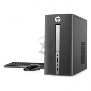 Oportunidad única - PC HP Pavilion 570 P023W, Intel Core i5-7400 3.0GHz, RAM 8GB, HDD 1TB+Sólido SSD 128GB PCIe NVMe, Wi-FI, BT, DVD, Windows 10 Home