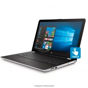 "Laptop HP Jaguar 15-BS080 Touch, Intel Core i7-7500U 2.7GHz, RAM 8GB, HDD 1TB, DVD, Pantalla LED 15.6"" HD Táctil, Windows 10 Home"