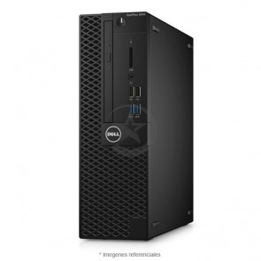 CPU Dell OptiPlex 3050 SFF Gráfica, Intel Core i7-7700 3.6GHz, RAM 8GB, HDD 1TB, Video 2GB AMD FirePro w2100, DVD, Windows 10  Pro