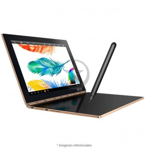 "Convertible Lenovo Yoga Book, Intel Atom X5 Z8550 1.44GHz, RAM 4GB, HDD 64GB, LED 10.1"" Full HD Táctil, Lápiz Real Pen, Android 6.0 Marshmallow,"