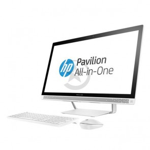 "PC Todo en Uno HP Pavilion 27-A109, Intel Core i7-6700T 2.8GHz, RAM 12GB, HDD 1TB + 8GB SSD, Video Nvidia GT 930MX 4GB, Wi-FI, BT, DVD-RW, LED  27"" WQHD, Windows 10 Home"