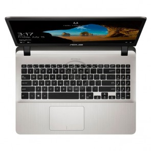 "Laptop Asus X507UB-BR161U, Core i7-7500U 2.7GHz, RAM 8GB, HDD 1TB, Video 2GB Nvidia GeForce MX-110, LED 15.6"" HD"