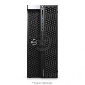 PC Dell WorkStation Precision T5820 Intel® Xeon® W-2133 3.6GHz (6 núcleos), RAM 64GB ECC, Sólido SSD 512GB + HDD 2TB, Video 16GB Nvidia Quadro P5000, DVD, Windows 10 Pro