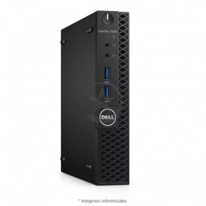 PC Mini-micro Dell OptiPlex 3050, Intel Core i5-7500T 2.7GHz, RAM 4GB, HDD 500GB, Windows 10  Pro