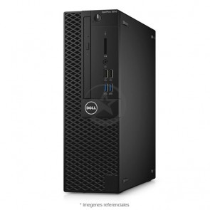 PC Dell OptiPlex 3050 SFF Intel Core i5-6500 3.2GHz, RAM 4GB, HDD 1TB, DVD+RW, Windows 10  Pro + Monitor DELL E1916H de 18.5""