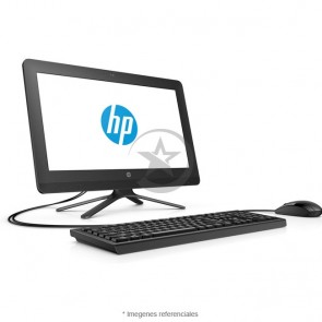 "PC Todo En Uno HP 20-C408LA, Intel Core i3-7130U 2.7GHz, RAM 4GB, HDD 1TB, Wi-FI, DVD, LED 19.5"" HD+ (1600x900), Windows 10 Home"