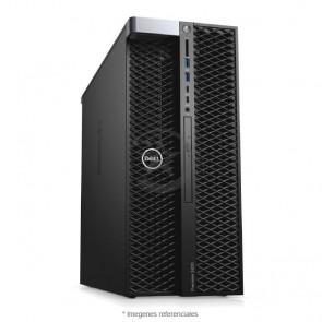 PC Dell WorkStation Precision T5820 Intel® Xeon® W-2133 3.6GHz (6 núcleos), RAM 64GB ECC, Sólido SSD 512GB + HDD 4TB, Video 24GB Nvidia Quadro P6000, DVD, Windows 10 Pro