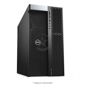 PC WorkStation Dell Precision 7920 Tower, Intel Xeon Silver 4114 2.2GHz (10 núcleos), RAM 32GB ECC, Sólido SSD 512GB + HDD 2TB, NVIDIA Quadro P4000 8GB GDDR5, DVD, Windows 10 Pro