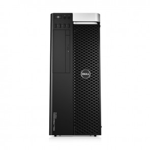 PC WorkStation Dell Precision T7610, Doble procesador Intel Xeon Six-Core E5-2620 2GHz , RAM 32 GB ECC, HDD 2TB + SSD 256GB , Video 6GB NVIDIA Quadro 6000, Win 8.1 / Win 10 Pro