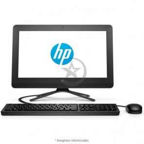"PC Todo En Uno HP 20-C200LA, Intel Celeron J3060 1.6GHz, RAM 4GB, HDD 1TB, Wi-FI, DVD, LED 19.5"" HD+ (1600x900), Free"