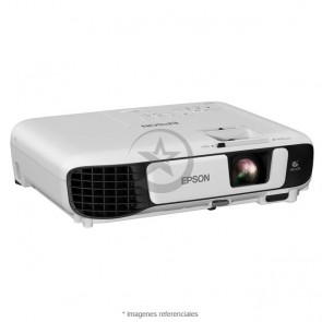 Proyector PowerLite W42+ 3LCD 3.600 lumens, resolución WXGA 1280x800, HDMI