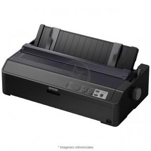 Impresora Matricial Epson FX-2190II, matriz de 9 pines, Paralelo / USB 2.0, velocidad máxima 738 cps, fuente de 272 columnas, auto-voltaje 100V - 240VAC