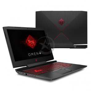 "Laptop HP Omen 17-AN001LA Intel Core i7-7700HQ 2.8GHz, RAM 12GB, HDD 1TB, Video 4GB Nvidia GTX 1050M, LED 17.3"" Full-HD, Windows 10 Home"
