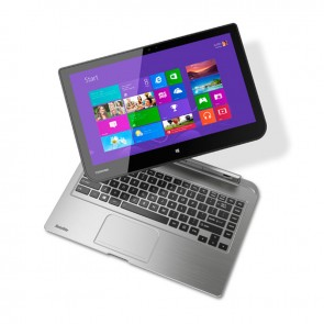 "Convertible Toshiba Satellite  W35DT-ASP4302L, AMD Dual Core A4-1200 1.0GHz, RAM 4GB, HDD 500GB, Pantalla 13.3""HD desmontable, Win 8.1 SP"