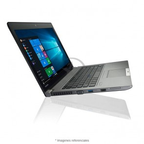 "Laptop Toshiba Tecra Z40-C1410LA, Intel Core i5-6300U 2.4GHz, RAM 8GB, HDD 500GB, LED 14"" HD, Windows 10 Pro SP"