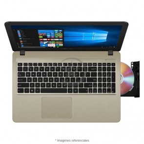 "Laptop Asus X540UA-G0837, Intel Core i3-8130U 2.2GHz, RAM 4GB, HDD 1TB, LED 15.6"" HD"