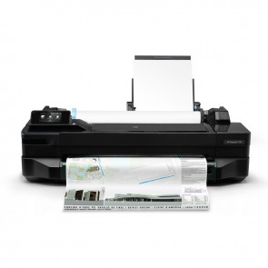 Plotter HP ePrinter Designjet T120 de 24 pulgadas, A1, calidad 1200 x 1200 dpi optimizados, WiFI,