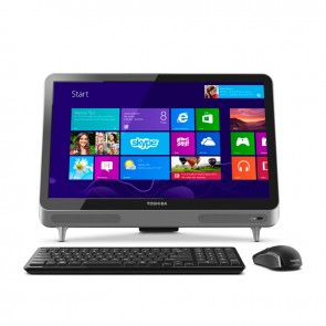 "PC Todo en Uno Toshiba Touch LX830-01F Core i5-3230M 2.6GHz, RAM 8GB, HDD 1TB, Video 2GB, DVD, LED 23"" Touch Full HD, Windows 8"