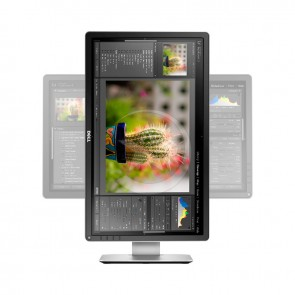"Monitor DELL P2414H de 23.8"" Full HD 1920x1080, Pivot ajustable,VGA, DisplayPort, DVI-D USB"
