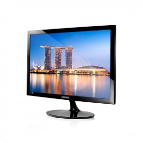 "Monitor Samsung Led LS24D300HS, 24"" Full HD (1920x1080), Mega∞ DCR, VGA / HDMI"
