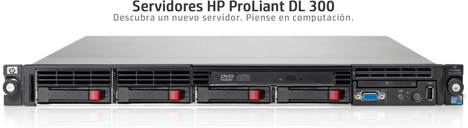 HP ProLiant DL360 G7